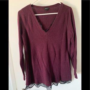 Torrid sz 0 sweater